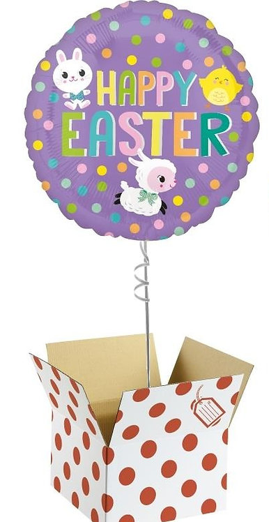 Happy Easter Balloon in a Box (LOCAL DELIVERY)