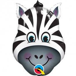 Zebra Themed Supershape Balloon