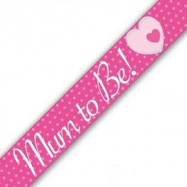 Mum to Be Banner