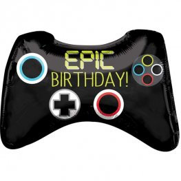 Epic Birthday Games Controller Supershape Balloon