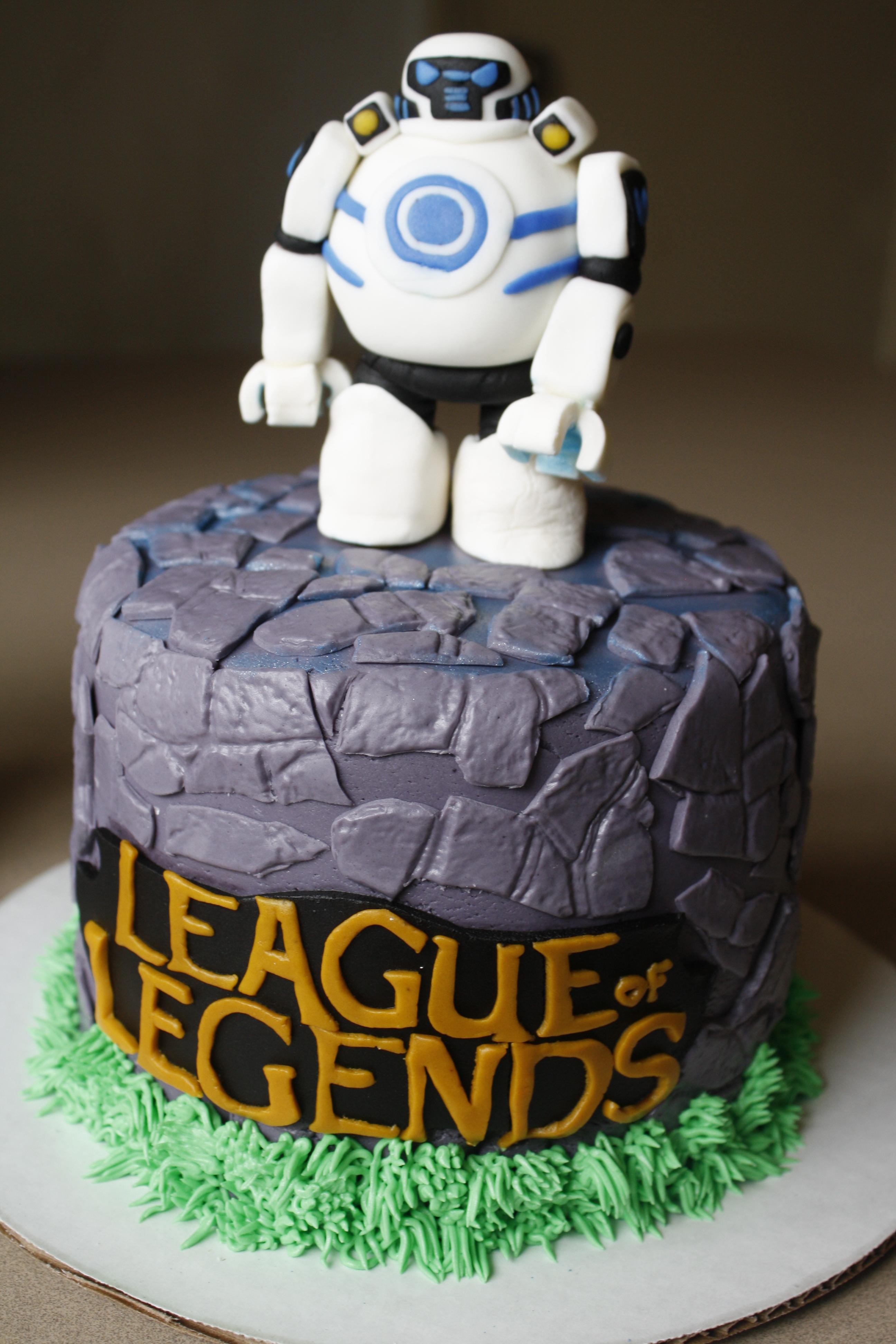 Iblitzcrank League Of Legends Cake