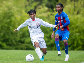 Edgard Amping Learns How to Face the World Best Academy Teams