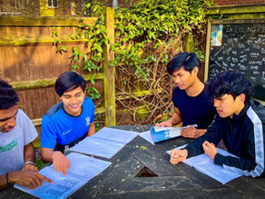 #GarudaSelect Players Prepare for the Senior High-School National Exam