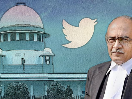 Supreme Court holds Advocate Prashant Bhushan guilty of contempt, hearing on sentence to be held on