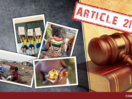 Intra-conflict Of Fundamental Rights Under Article 21 Of The Constitution Of India