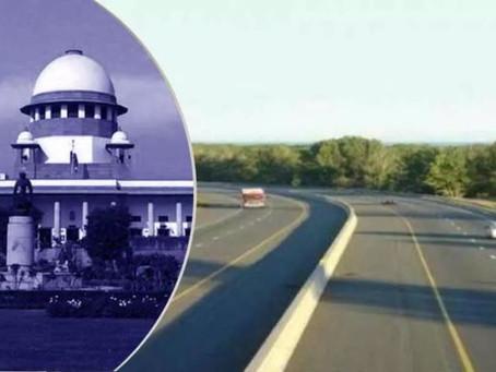 Supreme Court allows Chennai-Krishnagiri-Salem National Highway; Centre is entitled to acquisition