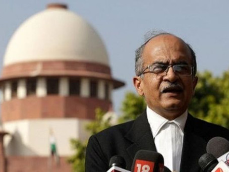 Prashant Bhushan filed review petition in SC against conviction for contempt.