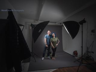 Portrait photography in Marek Kuzlik Photography Studio in Coventry