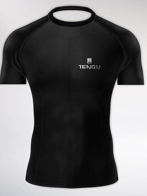 TenguWear Compression Black Edition Short Sleeve