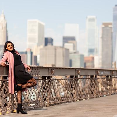 Dancer: Saleena @ Brooklyn Bridge