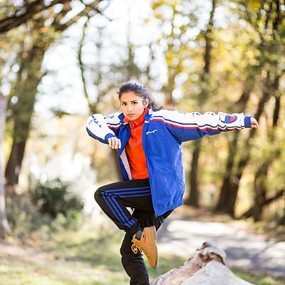 Dancer Ishita Mili @ Prospect Park