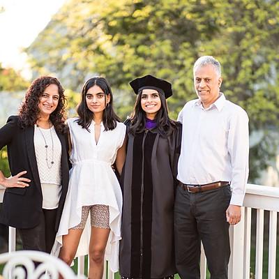Saba's Graduation - Porch Portraits