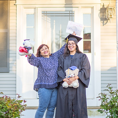 Trisha's Graduation - Porch Portraits