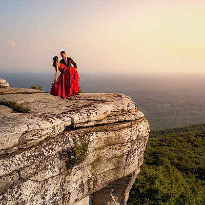 Sanjana and Pious' Engagement Session
