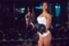 brunette-pose-workout-fitness-wallpaper-