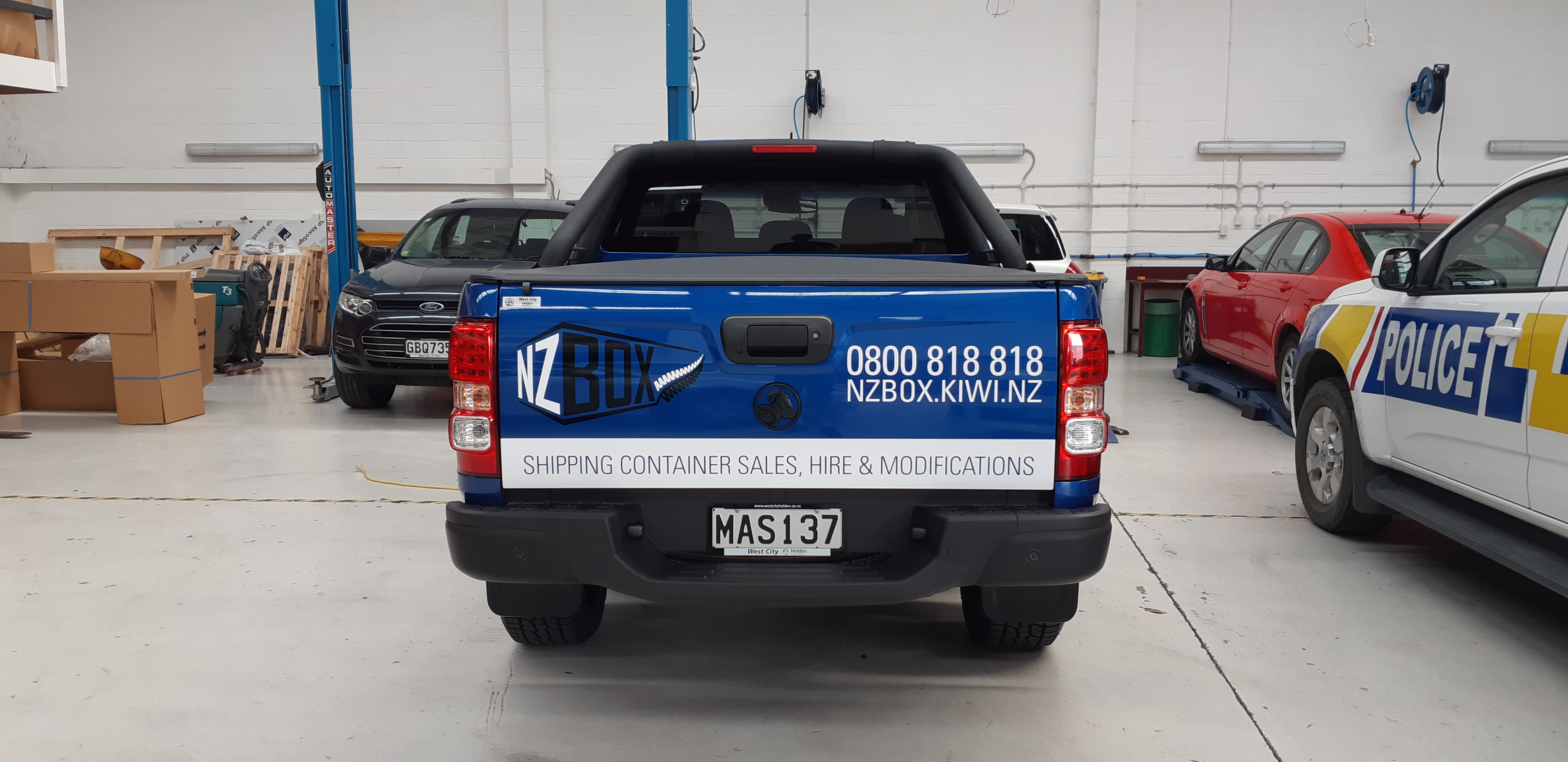 Ute Fleet Custom Signage