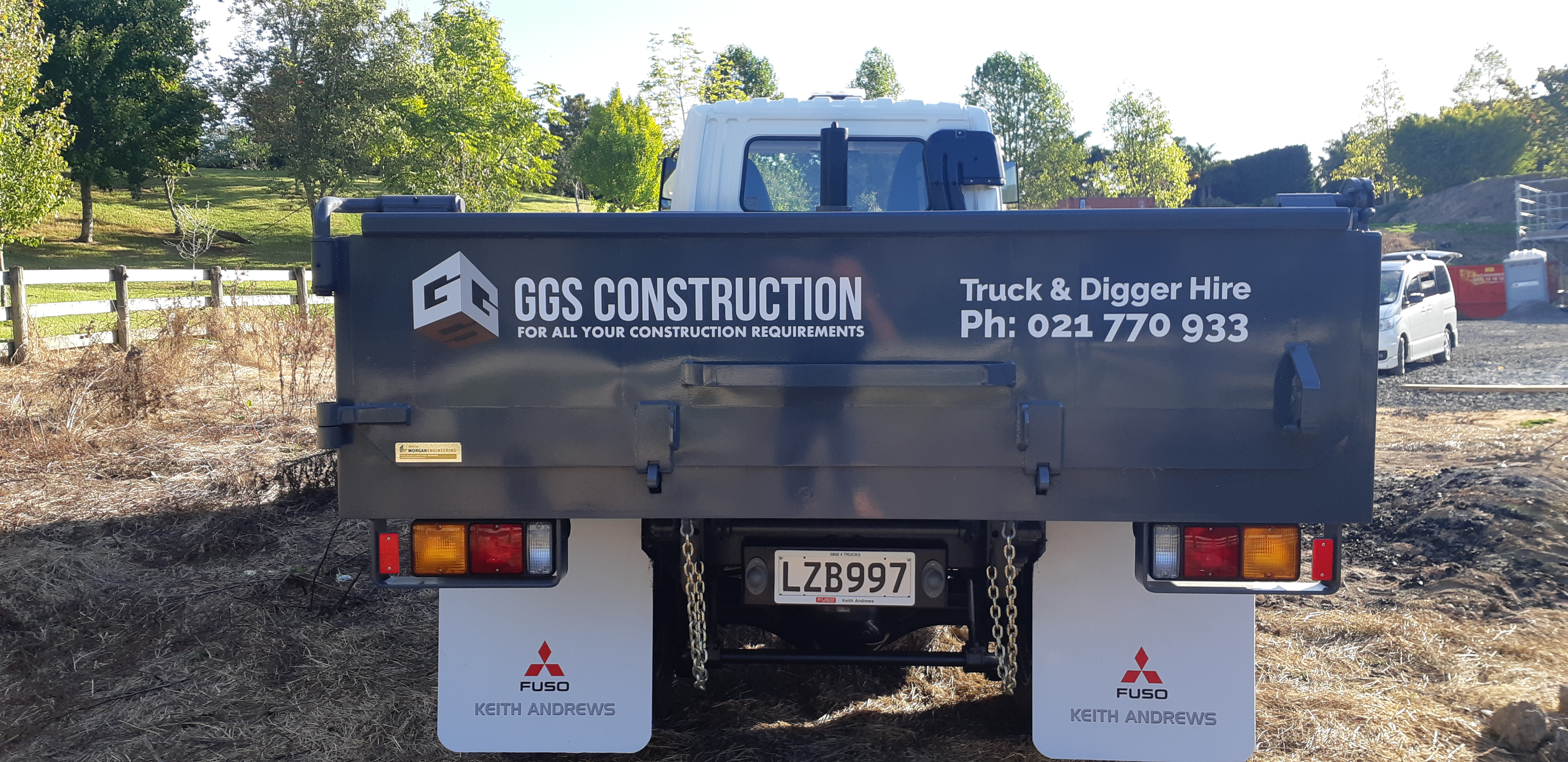 Truck Fleet Signage