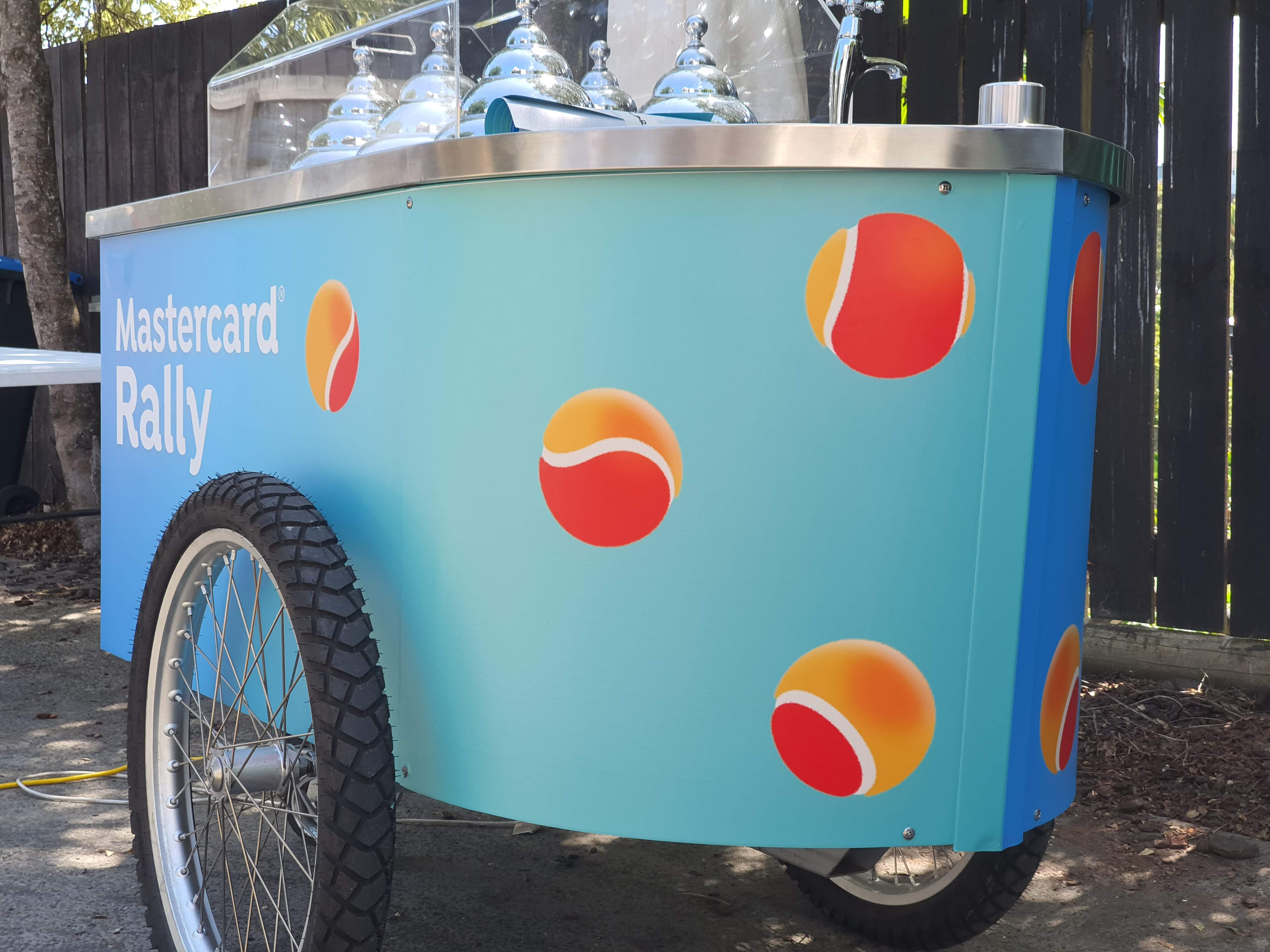 Ice Cream Cart Wrap