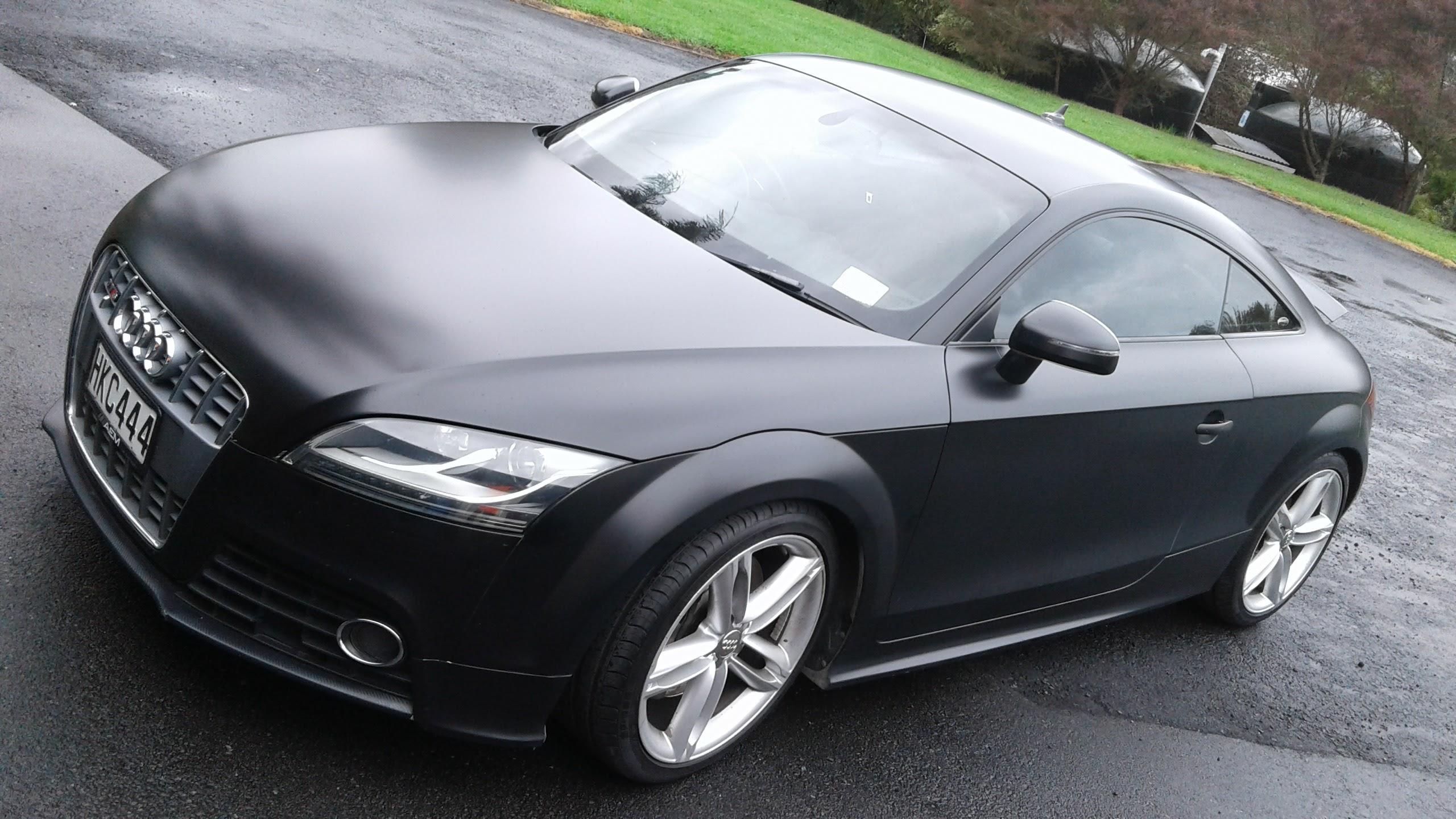 Audi TT car wrap
