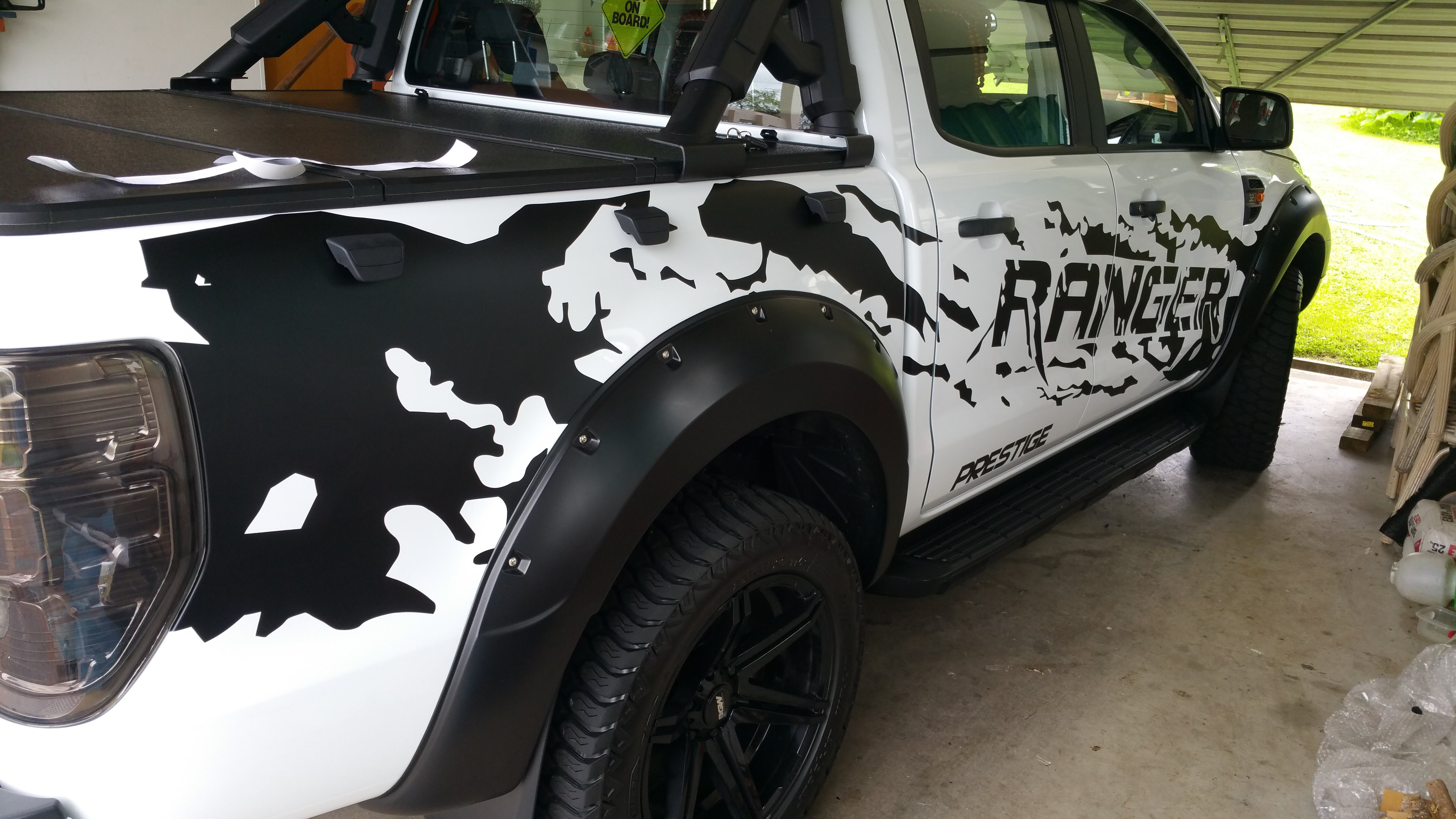 Ford Ranger Custom Decals