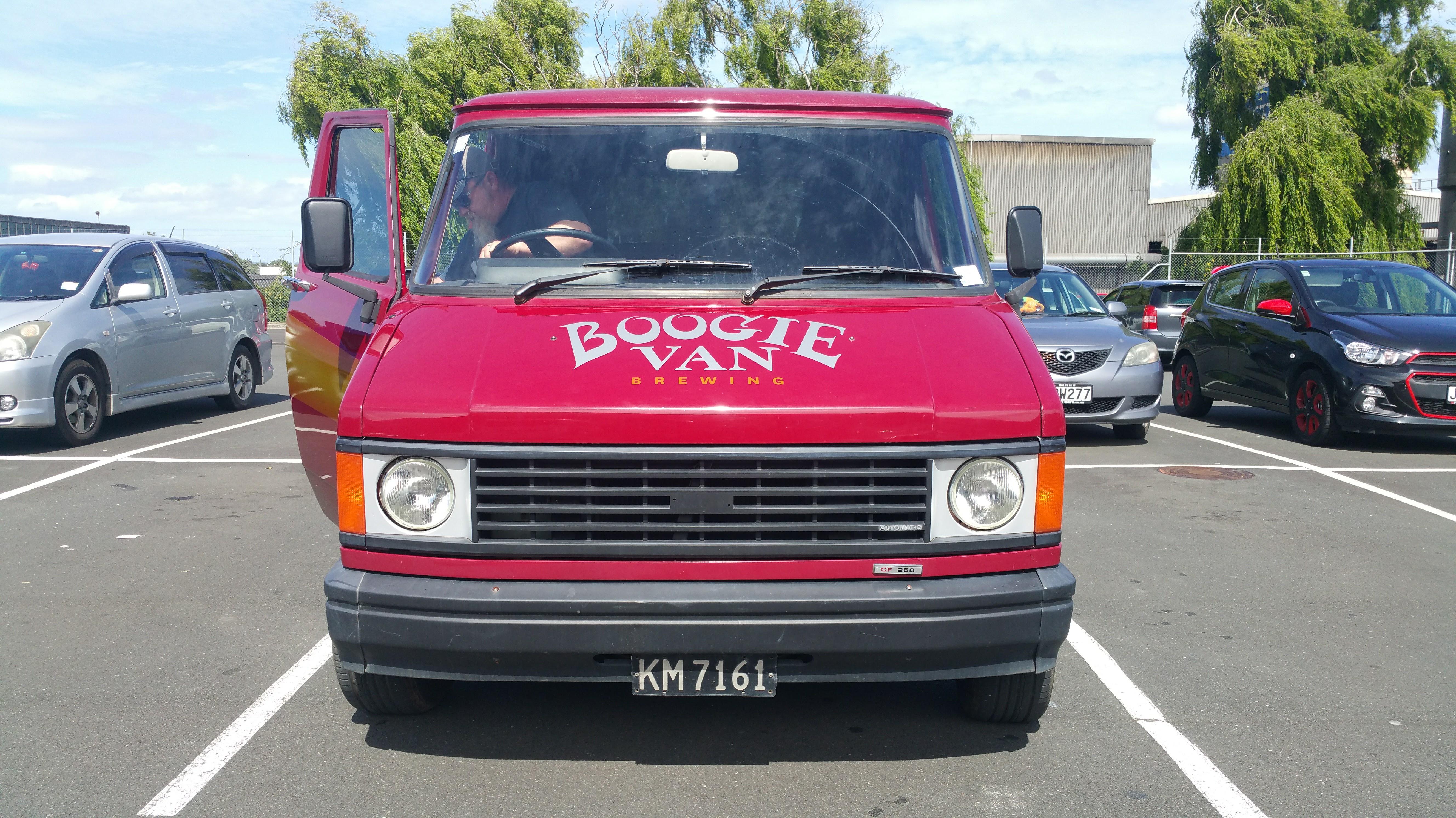 Custom Boogie Van Signage