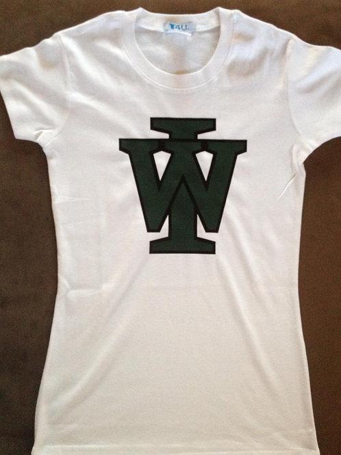 Ladies T-Shirt - (Black or White)