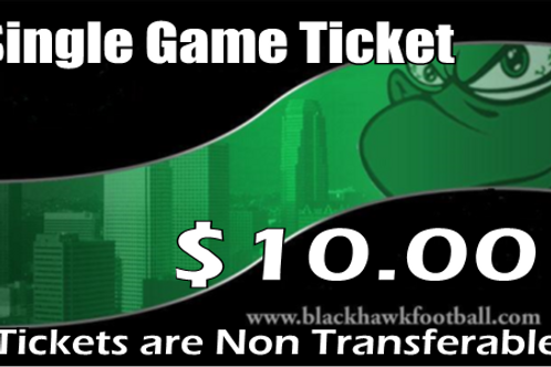 Single Game Ticket
