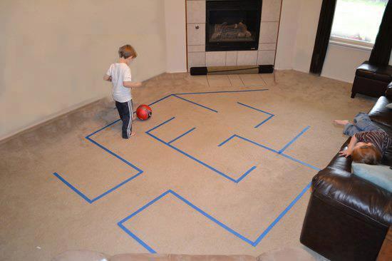 futebol no labirinto