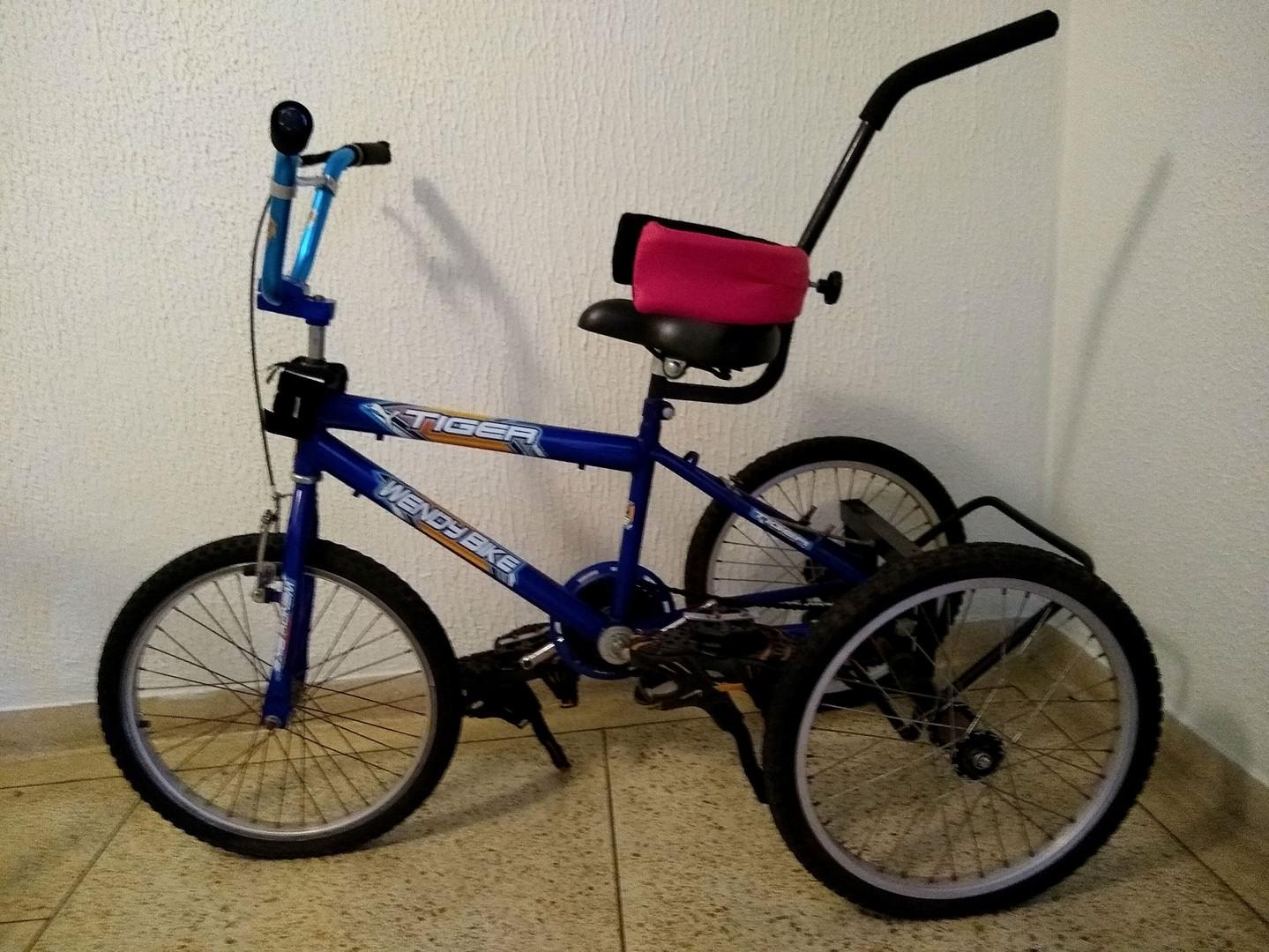 bicicleta adaptada