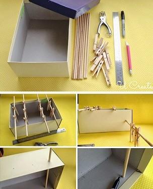 Mini Pebolim - material e como fazer