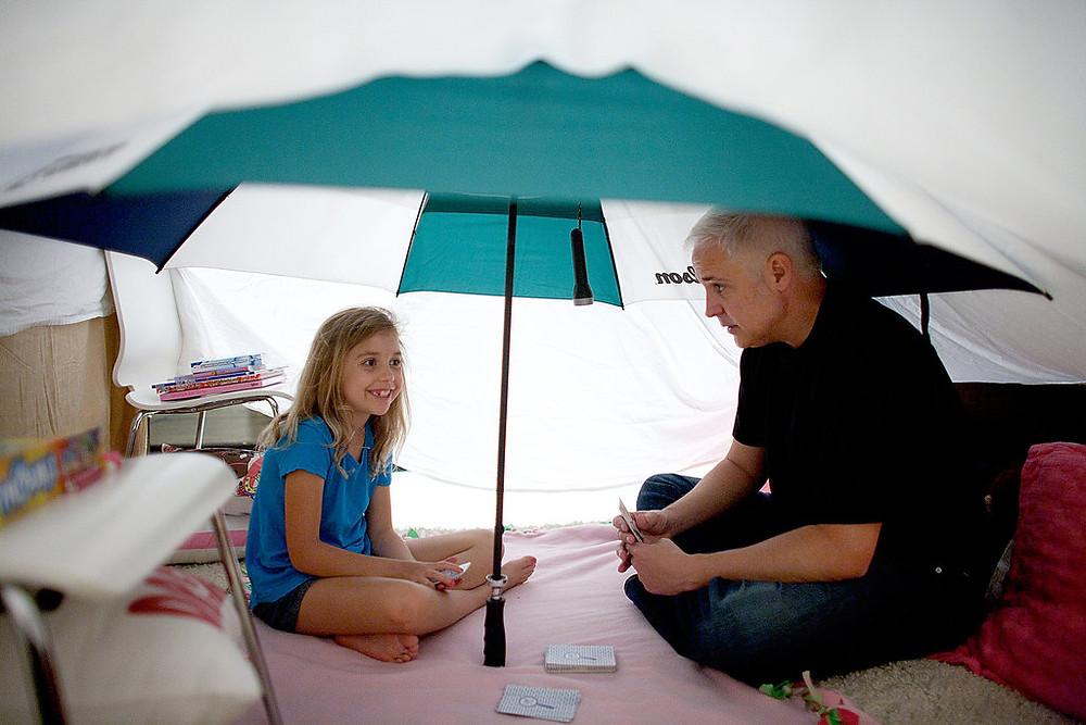 barraca de guarda-chuva
