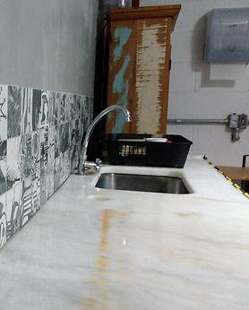 Cozinha do espaço