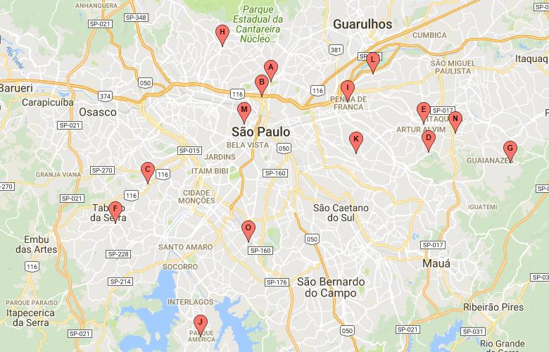 Mapa da Viradinha