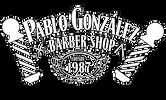 Logo Pablo González Barber Shop