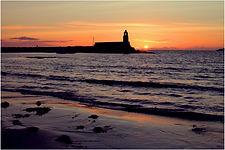 Evening light at Port Logon.JPG