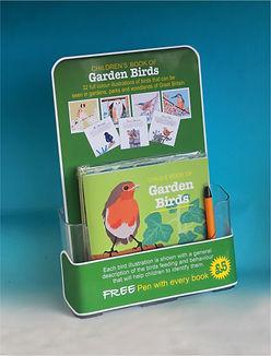 Garden Birds book display internet image