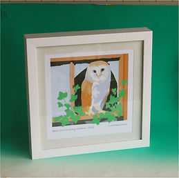 Barn owl framed print.JPG