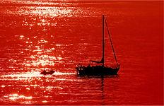 Sailing into the setting sun.JPG