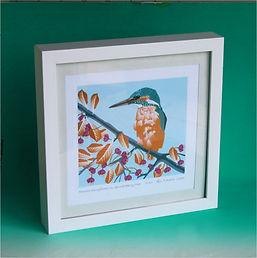Kingfisher framed print.JPG
