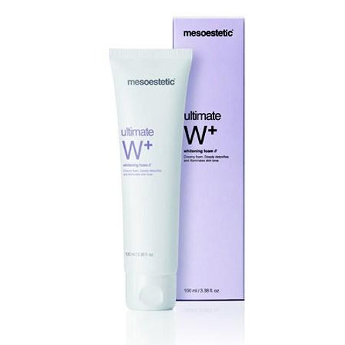 MESOESTETIC ULTIMATE W+ WHITENING CLEANSER FOAM
