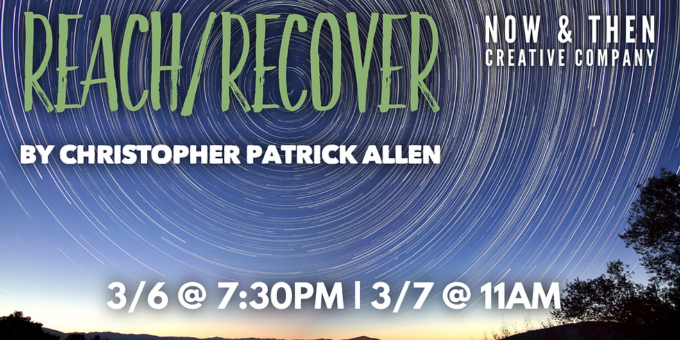 REACH/RECOVER by Christopher Patrick Allen