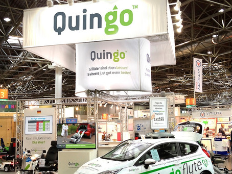 New 5 wheel Quingo models to appear at REHACARE 2014