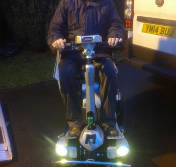 Mr Smith loving his all new Quingo Flyte!