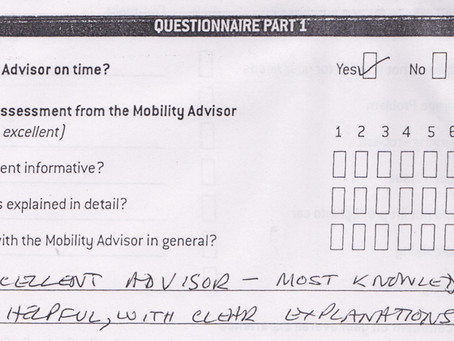 Thank you Mr Treacher for your fantastic feedback, Enjoy your Quingo!