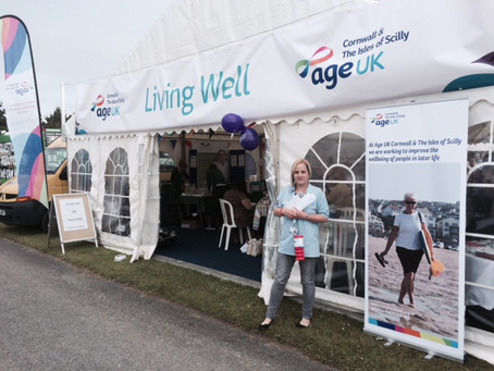 Quingo Flyte at the Royal Cornwall County Show 4,5,6 June 2015