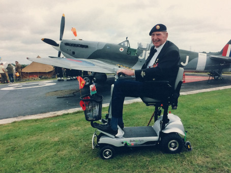 D-Day Veteran Loves his Flyte
