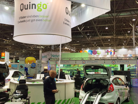 Come and see the Quingo stand at REHACARE show in Germany today!