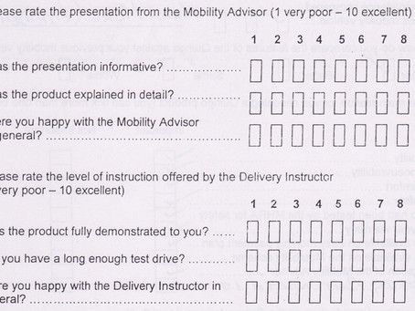 Perfect Quingo customer satisfaction surrey results received today!