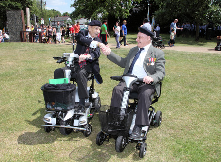 QUINGO HELP OUT VETERAN FOR ARMED FORCES DAY PARADE