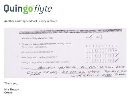 Great customer feedback survey